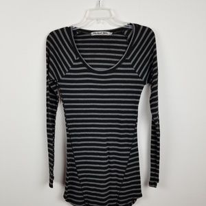 Michael stars striped knit top one size.